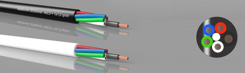 LEDotronic 4/1, RGBW LED-Leitung, PVC, hochflexibel