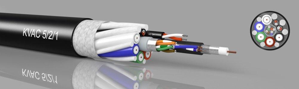 KVAC 5/2/1 - Video/Audio/Cat5 - kabeltronik - Elektronik ...