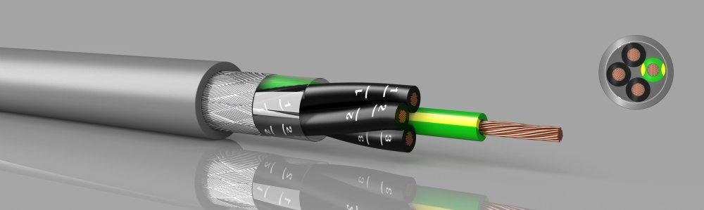 LiYCY-JZ / OZ  PVC, geschirmt, ziffernbedruckt