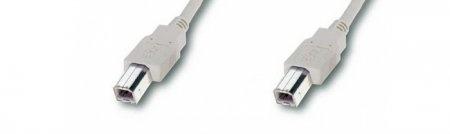USB-Kabel B-B / Stecker-Stecker -