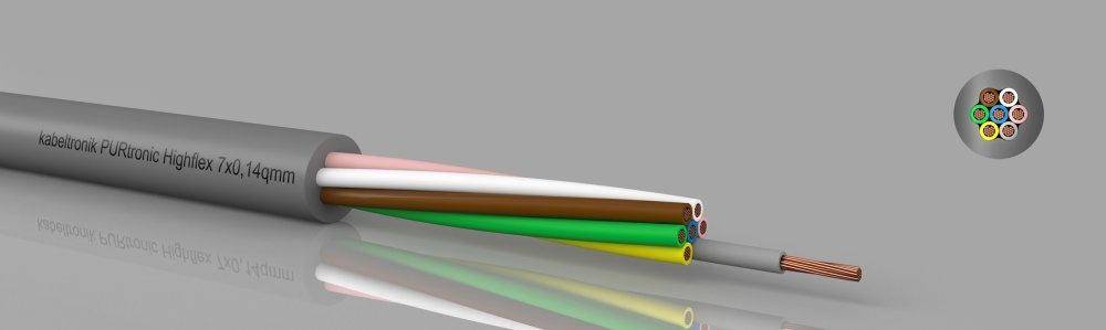 PURtronic Highflex PUR-Steuerleitung, hochflexibel