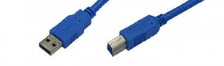 USB-Kabel A-B / Stecker-Stecker 3.0 zertifiziert -