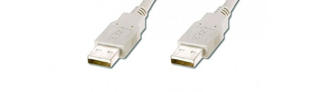 USB-Kabel A-A / Stecker-Stecker