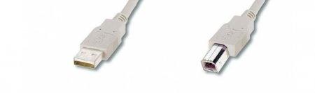 USB-Kabel A-B / Stecker-Stecker -