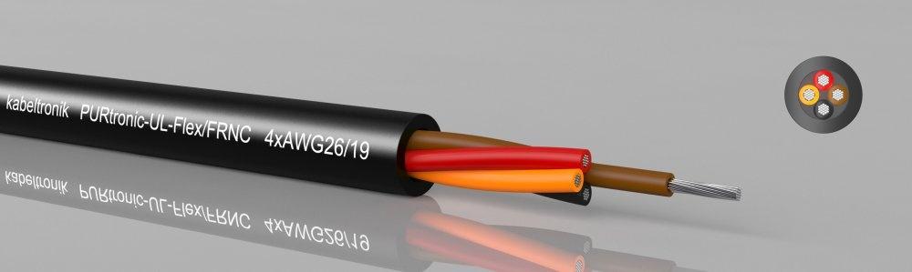 PURtronic-UL-Flex FRNC UL AWM 21223/11028, ungeschirmt