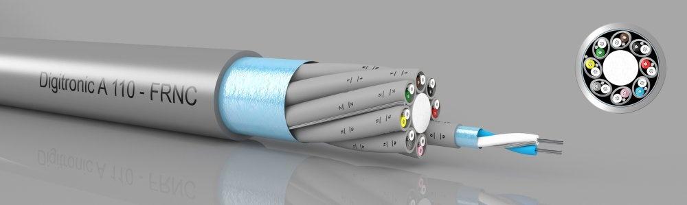Digitronic A110 FRNC  Paar- und Gesamtschirm, PiMF