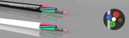 LEDotronic 3/1, RGB - LED-cable, PVC, high flexible