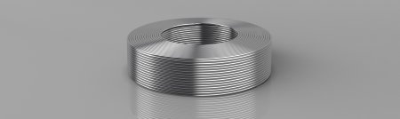 Copper rounded wire
