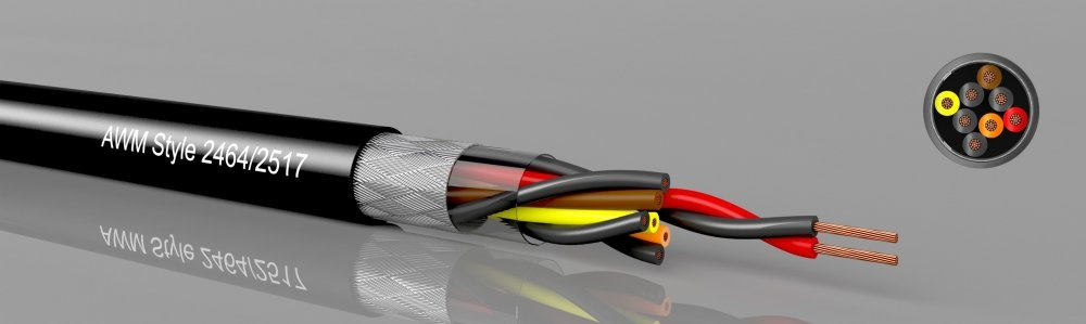UL-2-LiYCY twisted pair  UL AWM 2464/2517-10002, shielded