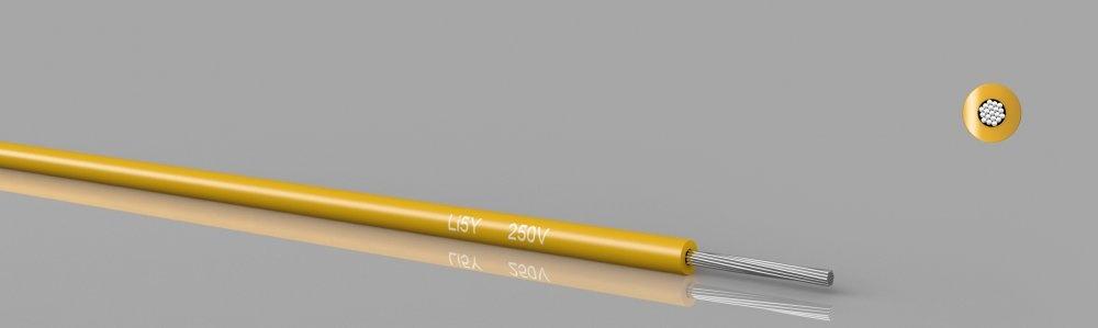 Li5Y  PTFE stranded wire, 250V, Type ET