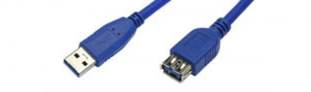 USB-cable A-A / male-female 3.0 certified