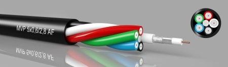 MVP-PVC 3/5/7x75 Ohm -  Multi-video cable