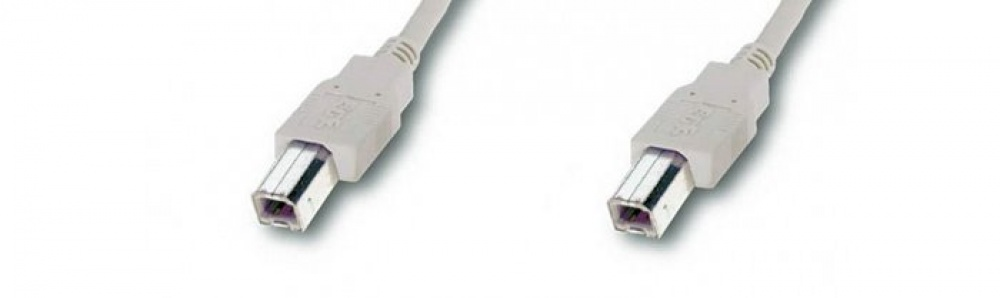 USB-cable B-B / male-male