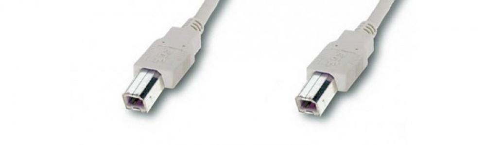 USB-cable B-B / male-male - kabeltronik - electronic ... on usb 2 vs usb 3, usb tower, usb adapter, usb to micro usb, usb connector,