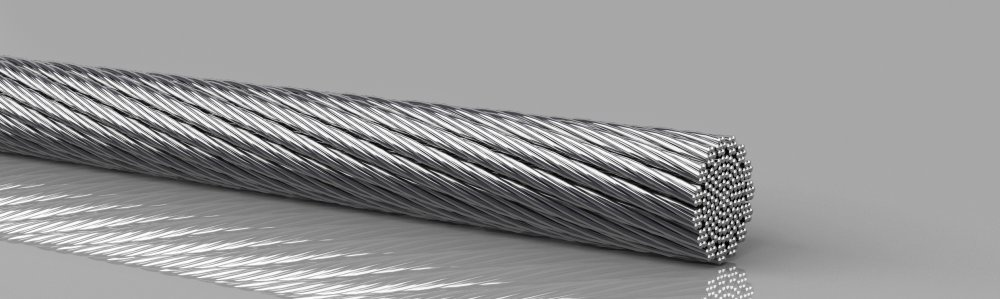 Copper round rope  extremely flexible, tinned