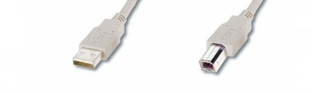USB-cables A-B / male-male