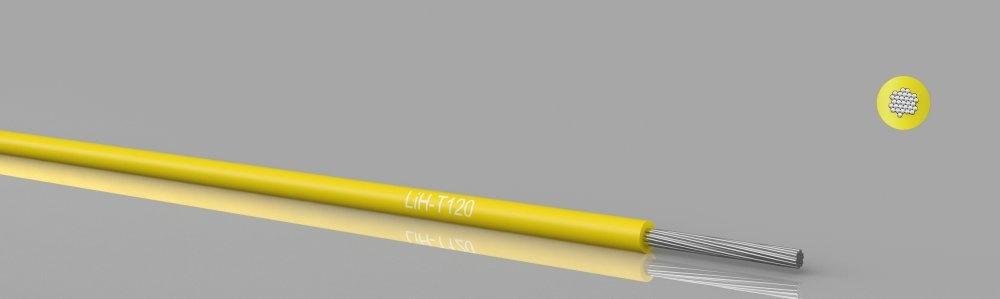 LiH-T120  Hook-up wire, stranded, 120°C, zero halogen